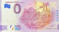 BILLET 0  EURO LOMNICKY  SVIT SLOVAQUIE  2020  NUMERO DIVERS