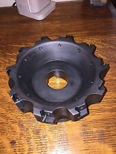 "INGERSOLL FACE MILL ISCAR 6""    1 1/2"" ARBOR  HEIGHT 2 1/4"""