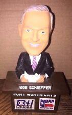 Bob Schieffer Ft. Fort Worth Cats Minor League Baseball Announcer Bobblehead