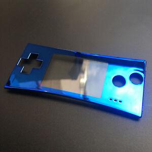 BRAND NEW Faceplate for Original Nintendo Game Boy Micro GBM Blue CUSTOM