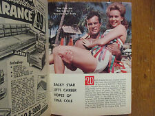 Feb-1963 Detroit News TV Magaz(TINA COLE/JULIE LONDON/ROBERT CONRAD/ZINA BETHUNE
