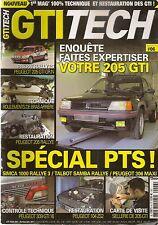 GTI TECH 6 SIMCA 1000 RALLYE 3 PEUGEOT 306 MAXI 309 GTI 16 TALBOT SAMBA RALLYE