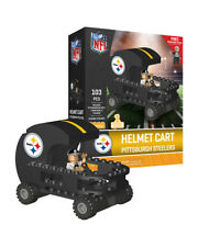 Pittsburgh Steelers Helmet Cart Set with Minifigure OYO Sports Toys 103PCS