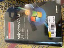 Windows Vista Ultimate upgrade with SP1 Upgrade 32 & 64 66R-02262 product key