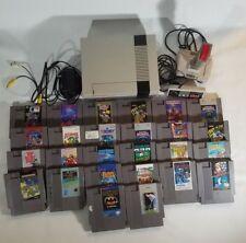 Original NES Nintendo System Console With 26 Games Bundle Controller & Joystick