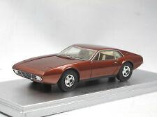 Kess Scale Models KE43013010 - 1971 De Tomaso Zonda Bronze metallic 1/43