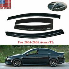 Rain Guard Window Visor Weather Sheild  Set For 2004-2008 2007 Acura TL Sedan