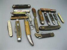 Vintage Lot of 20 Rusty / Broken Pocket Knives *READ*