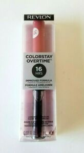 Revlon Colorstay Overtime 16 HRS Longwear Lipcolor Gloss~ 530 PINK ~ 0.07 fl oz