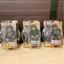 Run DMC Jam Master figure 3 complete set Mezco 2002 limited