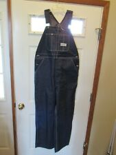 Vintage Nwot Montgomery Ward Power House Denim Overalls Sanforized New 40x32