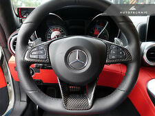 AUTOTECKNIC CARBON STEERING WHEEL TRIM - MERCEDES BENZ W218 CLS63 X156 GLA45 AMG