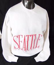 Vintage Seattle University Crew Neck Sweatshirt Sweat Shirt Retro XL Or Large
