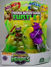 PLAYMATES TMNT 2015 HALF-SHELL HEROES DONNIE w/ LUGE ACTION FIGURE MOSC SEALED