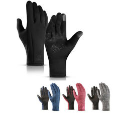 Full Finger Cycling Gloves Winter Warm Windproof Waterproof Touchscreen Thermal