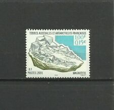 French colonies - TAAF 2001 Minerals , MNH