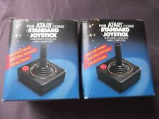 2 Joystick Controllers for Atari & Compatibles Not Used Old Stock made in Taiwan