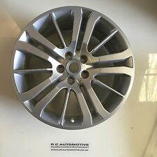 "GENUINE RANGE ROVER SPORT 20"" HST 15 SPOKE SPARKLE SILVER ALLOY WHEEL"