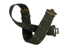 MILITARY WEBBING PISTOL BELT 58 PATTERN TYPE GENUINE ISSUE Adjustable XXS-XXL
