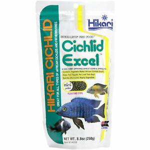 Hikari Cichlid Excel Mini Floating Pellets 250g Aquarium Fish Food