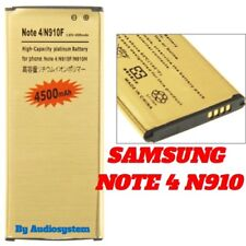 BATTERY POWERED 4500Mah FOR SAMSUNG GALAXY NOTE 4 SM-N910 N910F INCREASED