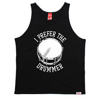 I Prefer The Drummer Banned Member UNI VEST birthday gift fan drum sticks kit