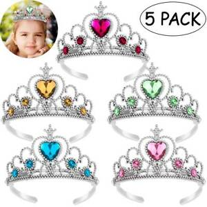 Fancy Girls Kids Princess Dress up Party Fairy Tiara Angle Costume Accessories