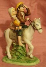 "Norman Rockwell Figurine ""Off To School"""