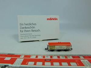 AU575-0,5# Märklin Insider mini-club Z/DC Güterwagen Spielwarenmesse 2003, OVP