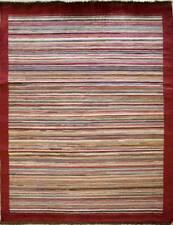 Rugstc 4.5x7 Senneh Gabbeh Multicolor Alfombra, Vegetal Tinte, Anudado a Mano,