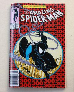 AMAZING SPIDER-MAN #300 REPLICA IN NEWSPAPER PAPER