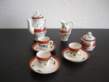 50p Casa Delle Bambole Miniatura Da Pranzo Ware Set Da Tè In Porcellana