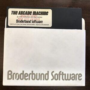 The Arcade Machine / Broderbund - Works on Apple II Computers