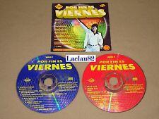 Por Fin Es Viernes 1 Varios 1997 Max Music Cd Doble RARE Press Mexican