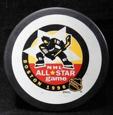 "NHL All Star Game 1996 Boston Official Vintage Vegum Hockey Puck   ""Slovakia"""
