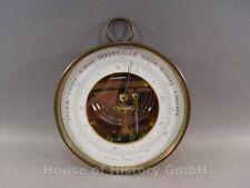 109274, Aneroid Barometer mit Messinggehäuse, um 1890, Durchm. 13,5cmm, TOP