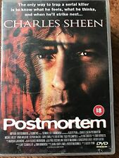 Charlie Sheen POSTMORTEM ~ 1998 Glasgow Scotland Based Crime Thriller | UK DVD
