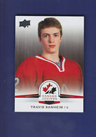 Travis Sanheim SP 2014-15 UD Hockey Team Canada Juniors #126