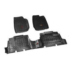 Floor Liner Kit Black New Jeep Wrangler Jk 07-17 4-Dr  X 12987.01
