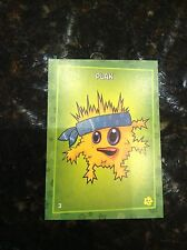 RARE PLANTS VS ZOMBIES STOP ZOMBIE MOUTH TRADING CARDS PUTRID POSSE CARD PLAK #3