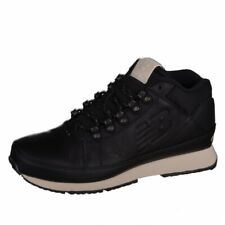 New Balance 754 Running High Top Leather Sneakers Classic Leather Black HL754NN