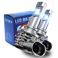 9005 LED Headlight Bulbs Kit Hi/Lo Beam HB3 LED Bulbs 50W 6000K Lights Fanless