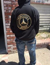 2XL Hoodie jacket with a large Sequin Mercedes Benz Patch