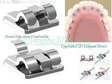 24Pc/Set 2D lingual brace wh123 orthodontics dental molar band buccal tube niti