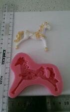 Carousel Horse silicone Molds