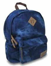 NEW DICKIES CLASSIC CANVAS BACKPACK / BAG AUTHENTIC - WASHED DENIM - $60 RETAIL