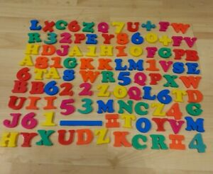 101 Magnetic Letters Numbers Math Symbols