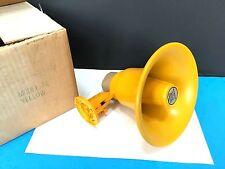 "Vintage Mobilpage Model 74 Exterior Speaker Horn 7.5"" Diameter"