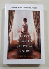 The Lost Season of Love and Snow by Jennifer Laam 2018 ARC paperback