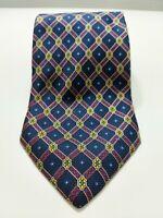 CRAVATTA STEFANI  VINTAGE 100% SETA TIE SILK krawatte MADE IN ITALY NUOVA